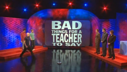Kalbos Gurmanai | Bad Things For A Teacher To Say