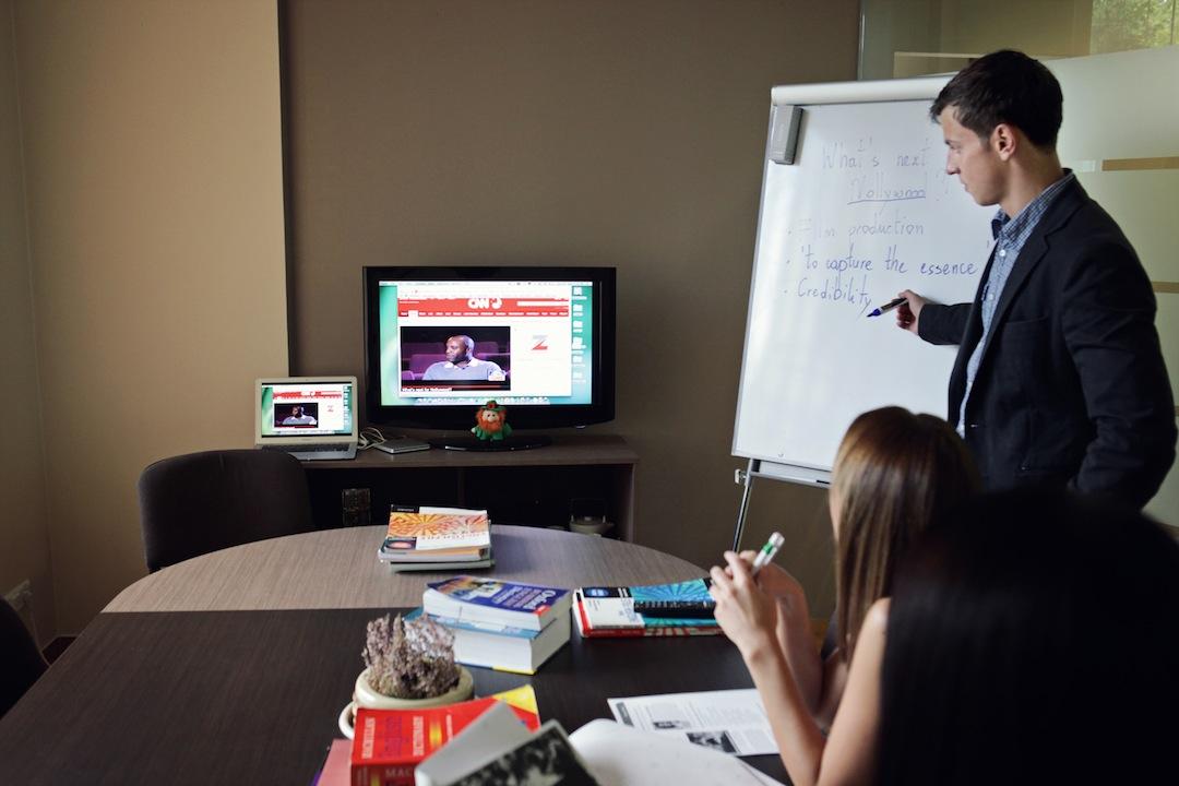 Interaktyvūs anglų kalbos kursai Vilniuje | Mokslo Sodas