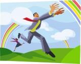 Pirmadienio anglų kalbos idioma | To chase rainbows